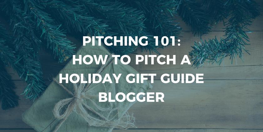 HGG Pitching 101 Blog