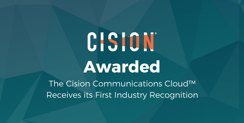 Cision Communications Cloud Awarded Codie