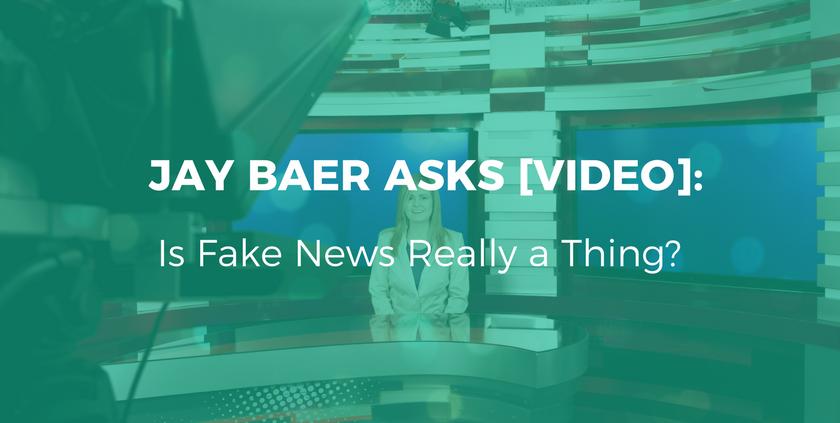 Jay Bear- Is Fake News Really a Thing