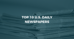 Top 10 U.S. Daily Newspapers