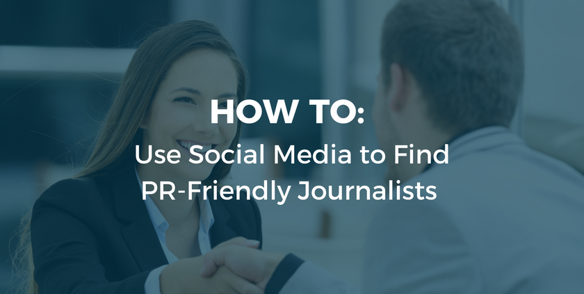 How to Find PR Friendly Journalists