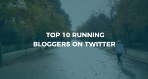 Top 10 Running Bloggers on Twitter