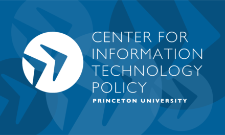 Center For Information Technology Policy | Home
