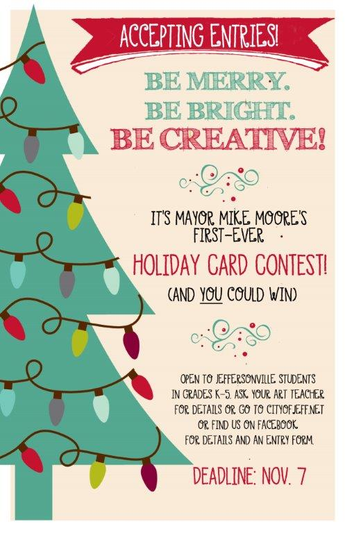 jeffersonville holiday card contest
