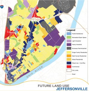 Jeffersonville Ohio Map.Land Use And Zoning City Of Jeffersonville