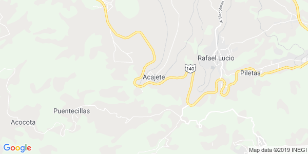 Mapa de ACAJETE