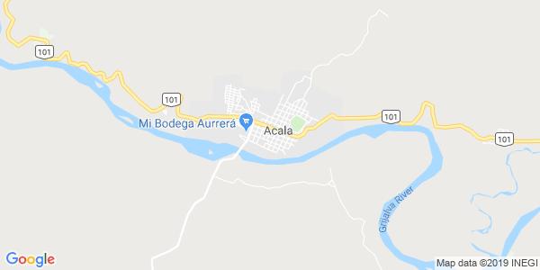 Mapa de ACALA