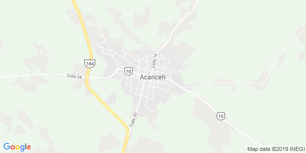 Mapa de ACANCEH