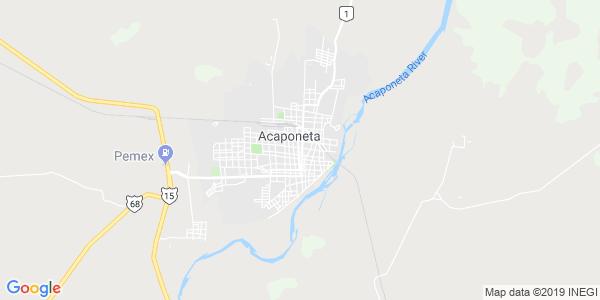 Mapa de ACAPONETA