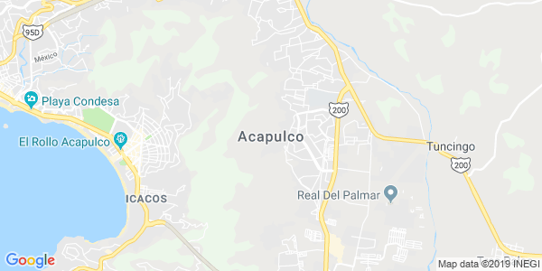 Mapa de ACAPULCO DE JU�REZ