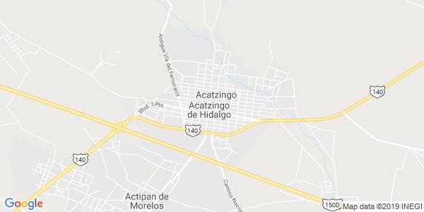 Mapa de ACATZINGO