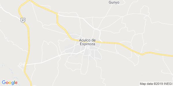 Mapa de ACULCO