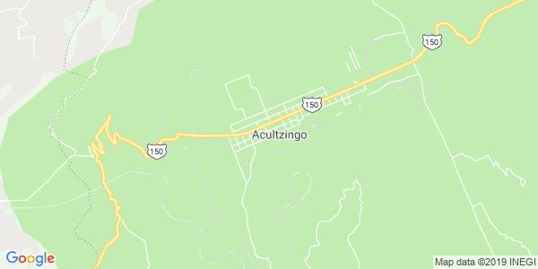 Mapa de ACULTZINGO