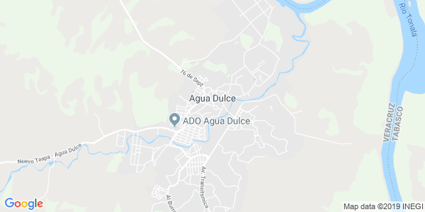 Mapa de AGUA DULCE