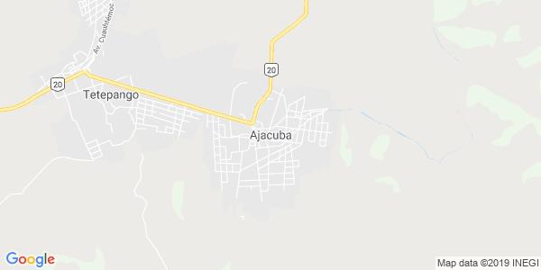 Mapa de AJACUBA