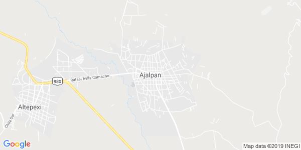 Mapa de AJALPAN