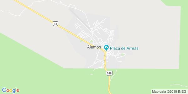 Mapa de ALAMOS