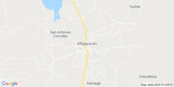 Mapa de ALFAJAYUCAN