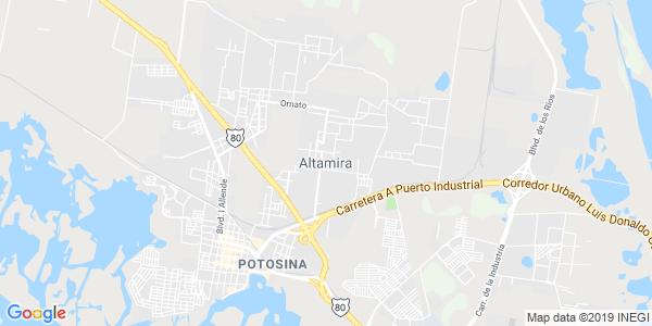 Mapa de ALTAMIRA