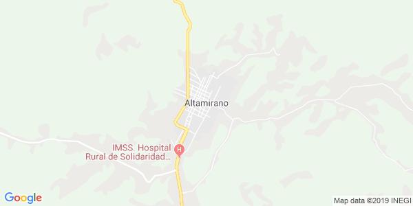 Mapa de ALTAMIRANO