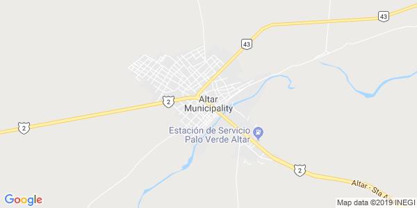 Mapa de ALTAR