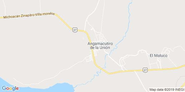 Mapa de ANGAMACUTIRO