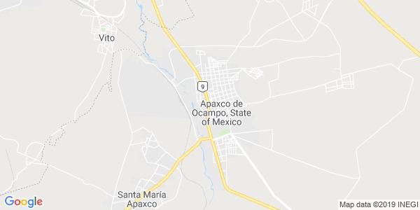 Mapa de APAXCO