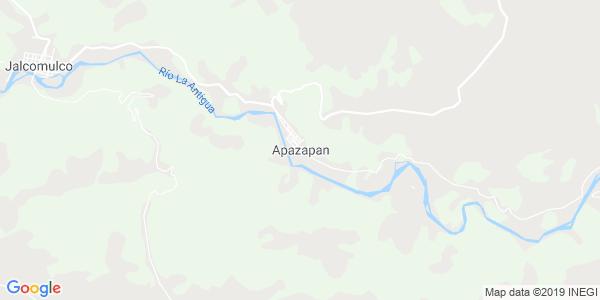 Mapa de APAZAPAN