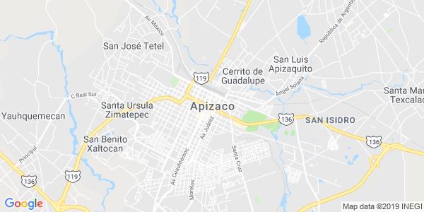 Mapa de APIZACO