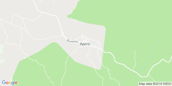 Mapa de APORO