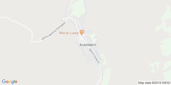 Mapa de ARAMBERRI