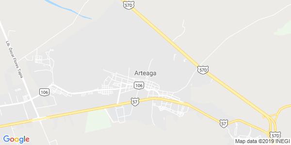 Mapa de ARTEAGA