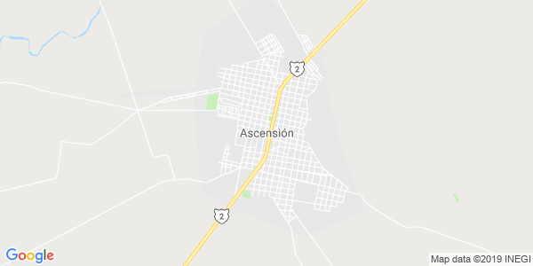 Mapa de ASCENSI�N