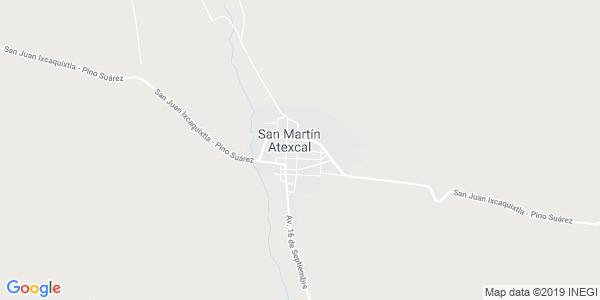 Mapa de ATEXCAL