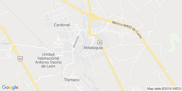 Mapa de ATITALAQUIA