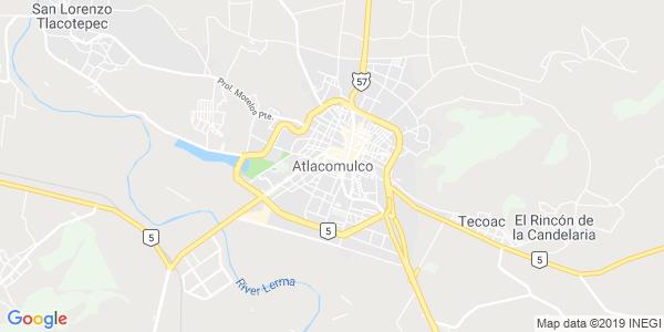 Mapa de ATLACOMULCO
