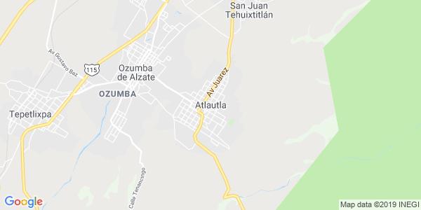 Mapa de ATLAUTLA