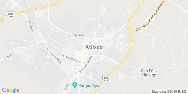 Mapa de ATLIXCO