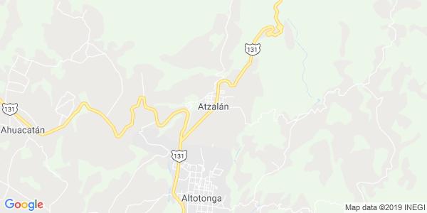 Mapa de ATZALAN