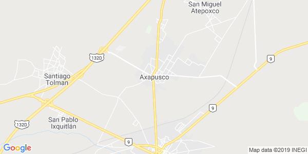 Mapa de AXAPUSCO