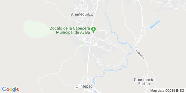 Mapa de AYALA