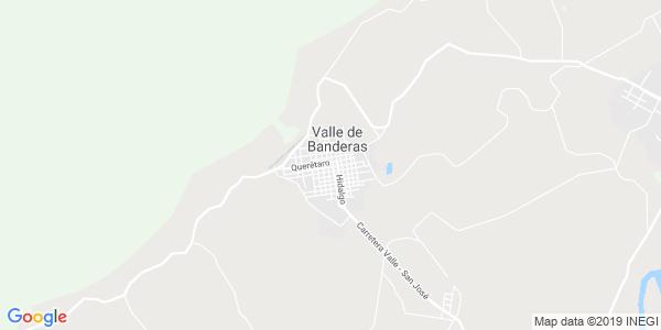 Mapa de BAH�A DE BANDERAS