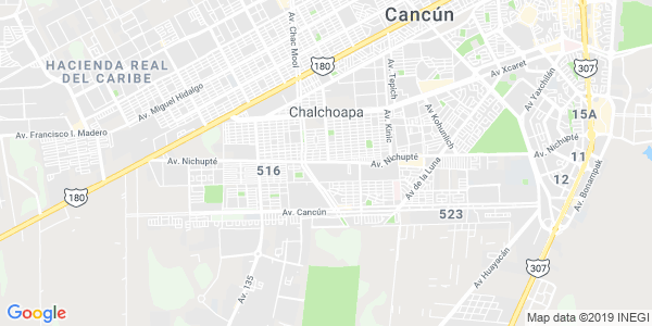 Mapa de BENITO JU�REZ