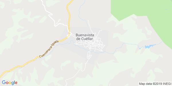 Mapa de BUENAVISTA DE CU�LLAR