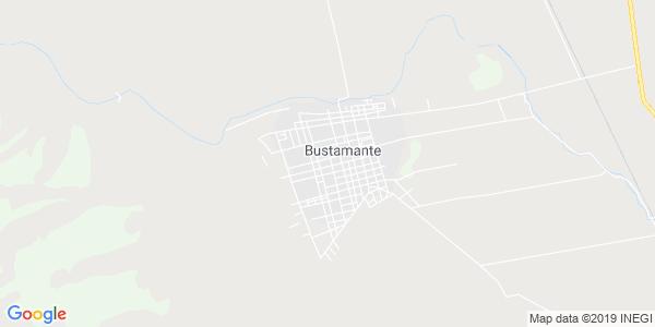 Mapa de BUSTAMANTE
