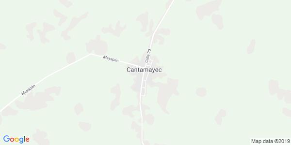 Mapa de CANTAMAYEC