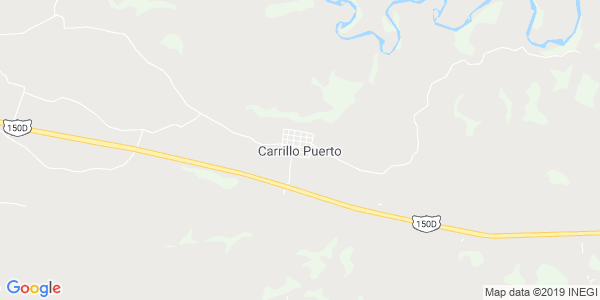 Mapa de CARRILLO PUERTO