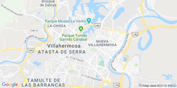 Mapa de CENTRO