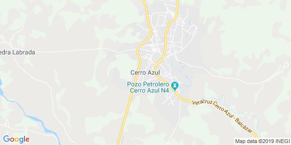 Mapa de CERRO AZUL