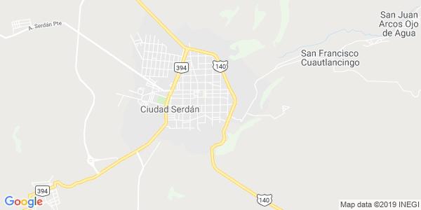Mapa de CHALCHICOMULA DE SESMA